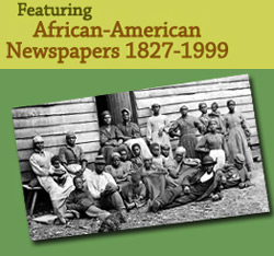 Online Access to African American Newspapers