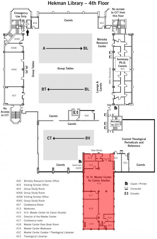 Map - Meeter Center