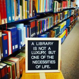 A Library Is...
