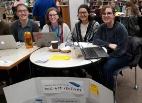 Latest Write Night Draws More Than 200 Students