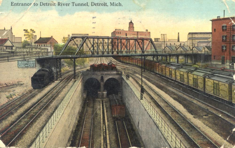 Detroit River Tunnel Hekman Digital Archive