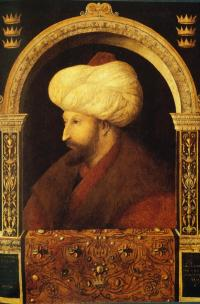 Portrait of Mehmed II