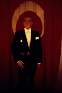 Ataturk in wax